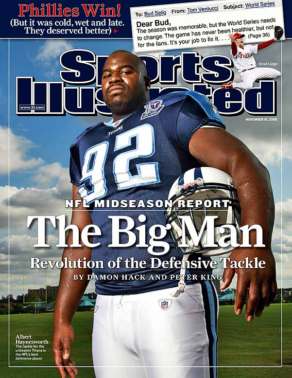 Haynesworth overcame a reputation for taking plays off and an ugly foot-stomping incident to become the game's most dominant defensive tackle. The Redskins recently made him the highest paid defensive player in history.<br><br>Others considered: <br>Delthea O'Neal (2000)