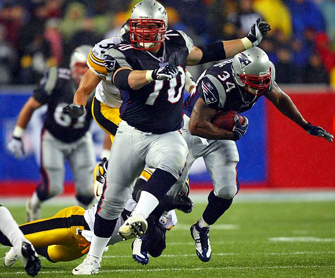 Mankins started every game for the defending champion Patriots as a rookie in 2005 and hasn't looked back.<br><br>Others considered: <br>Benjamin Watson (2004)<br><br>Send comments to siwriters@simail.com