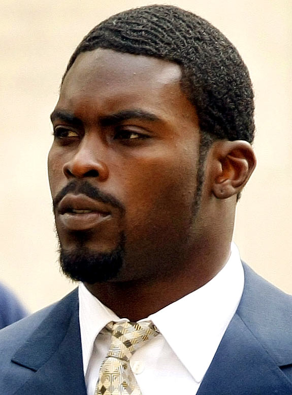While Vick has lined up a $10-an-hour construction job when he gets out of prison, his lawyer is still holding out hope that the former Atlanta quarterback will be back on an NFL team as early as this season. Even though the Raiders have JaMarcus Russell and just signed Jeff Garcia, I can totally see Vick's ending up in Oakland and becoming the first third-stringer to have a top-selling jersey.