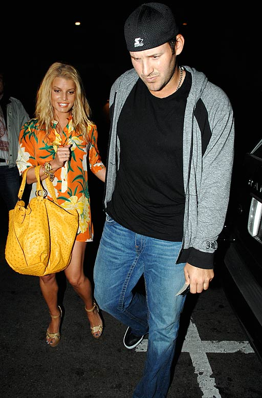 Simpson and Romo were photographed last week in Hollywood leaving Beso, the restaurant that Eva Longoria owns and frequents with Tony Parker. It got me thinking: If the Tonys left at the same time with their significant other, but headed in opposite directions, who would the paparazzi follow?