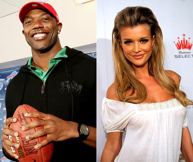 In perhaps the greatest reality television pairing ever, T.O. will team up with the model in a remake of the <i>The Superstars</i>, which will air on ABC in June. Jeff Kent, Robert Horry, Bode Miller, Jennifer Capriati, Lisa Leslie, Brandi Chastain and freestyle skier Kristi Leskinen are also scheduled to compete in the athlete-celebrity event, but the focus will no doubt be on T.O. and the interesting way he's preparing for his first season with the Bills (the Atlantis Resort in the Bahamas will host the six-week series).