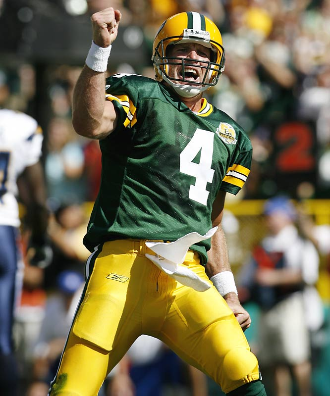 The 2007 season was a milestone campaign for Brett Favre as he posted the best single-season completion percentage of his career (66.5), broke several NFL quarterback records and notched 4,000 yards for the fifth time in his career. After the season, he announced his retirement; but four months later, he decided to attempt a comeback. After a lengthy dispute between Favre and the organization, the Packers finally shipped the future Hall of Famer to the Jets. Plagued by shoulder injuries, Favre threw for 3,472 yards but also 22 interceptions and the Jets failed to make the playoffs. He retired at the end of the season only to return to lead the Vikings to the NFC Championship Game in 2009 before retiring for good after the 2010 season.