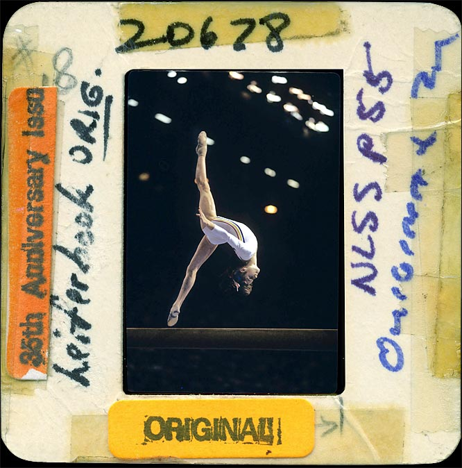 Nadia Comaneci scored the Olympic Games' first perfect 10s and won three gold medals in the 1976 Olympic Games -- a feat that has never been repeated.