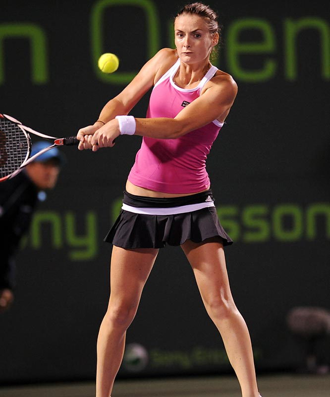 The 26-year-old Czech was bounced by Venus Williams in the quarterfinals.