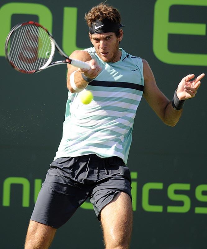Argentina's pride and joy tamed top-ranked Rafael Nadal.