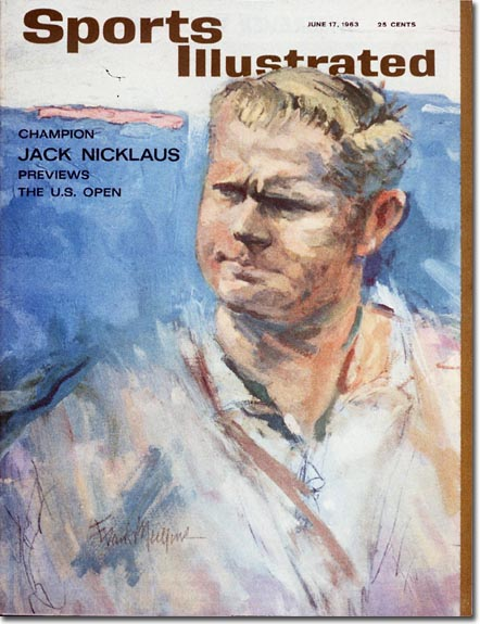 At the age of 23, Jack Nicklaus becomes the youngest golfer to win the Green Jacket at the Masters Tournament.