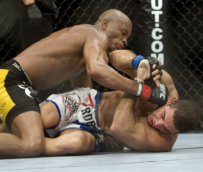 With the win, Silva has successfully defended his title seven times.