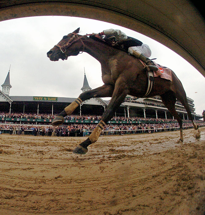 Prior to Saturday's race, Mine That Bird's last graded-stakes victory came in the Grade III Grey Stakes at Woodbine last October; and in that race, the colt ran on or near the lead for the entire 1 1/16 miles.