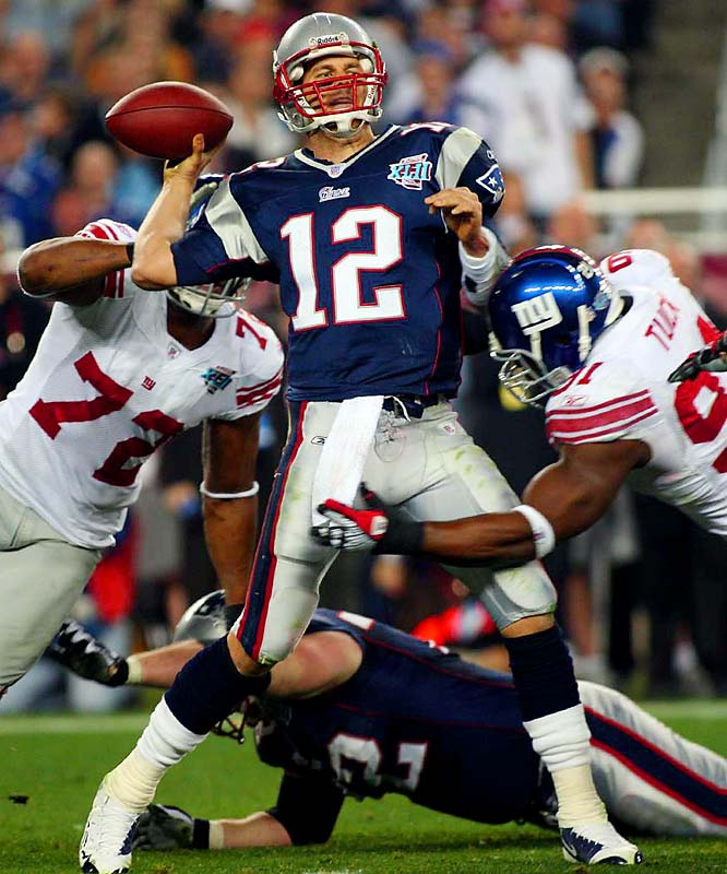 Brady's streak of 111 consecutive starts (fourth-most ever by a quarterback) ended abruptly when he tore his ACL and MCL midway through the first quarter of the Patriots' first game in 2008. As he looks to bounce back this season, seeking to match the form that saw him set the all-time record for touchdowns in a season (50 in '07), his health warrants monitoring. The same goes for some other NFL stars.