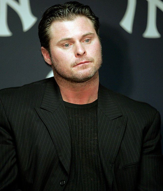 Although he has never stated it explicitly, Giambi said in May 2007 that he was ''wrong for doing that stuff.'' He recently agreed to MLB Commissioner Bud Selig's demand that he meet with steroid investigator George Mitchell to discuss his past usage of performance-enhancing drugs.  Send comments to siwriters@simail.com.