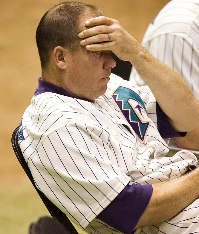 In 2006, Grimsley admitted to past steroid use after a sting operation connected him to HGH. Grimsley was suspended 50 games by Major League Baseball for violating its drug policy, and he gave investigators the names of several former teammates who he believed to be guilty of using performance-enhancing drugs.
