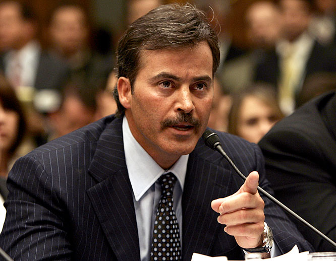 "During a spring, 2005 congressional hearing on performance-enhancing drugs, Palmeiro pointed his finger and said, ""I have never used steroids, period."" Later that year, he tested positive and served a 10-day suspension from baseball after a grievance to appeal the suspension was denied."