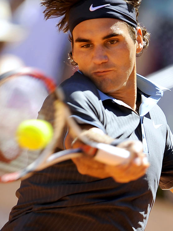 Federer has won 13 Grand Slam titles in his career -- one short of Pete Sampras' all-time record -- but none have come at Roland Garros. In French Opens since 2005, Federer is 0-4 against Rafael Nadal and 23-0 against everybody else.