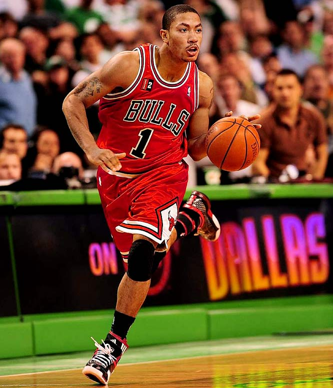The Rookie of the Year was up and down in the Bulls' epic first-round series against Boston. But Rose had one of the most memorable performances of the playoffs, going for 36 points and 11 assists in Chicago's 105-103 overtime win in Game 1. Rose, the No. 1 pick in the 2008 draft, matched Kareem Abdul-Jabbar's record for most points in a playoff debut.