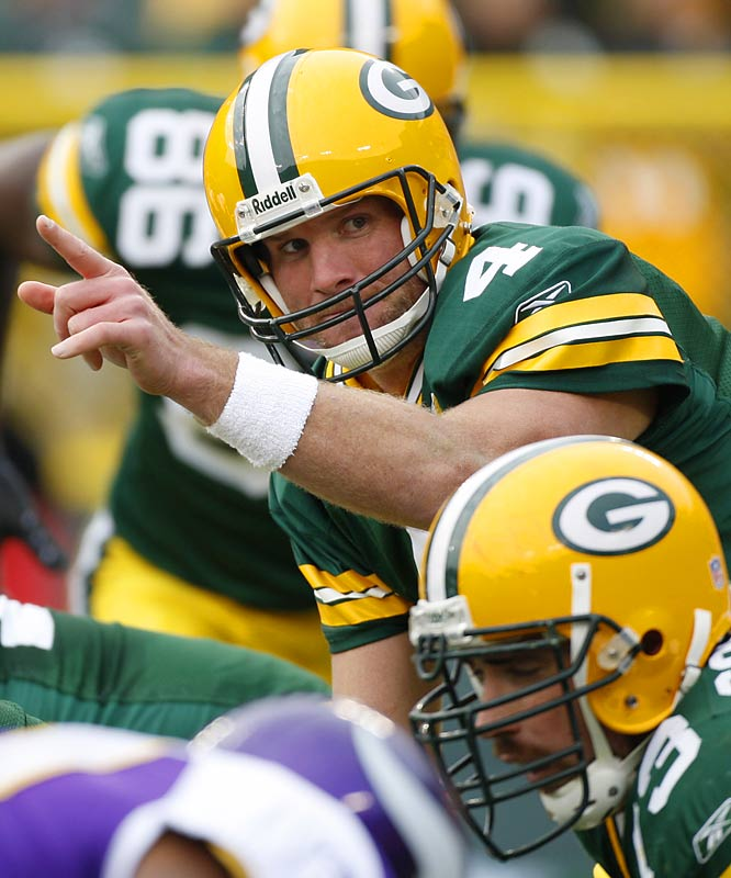 "Favre announces he will play in 2007. ""I am so excited about coming back,"" he says."