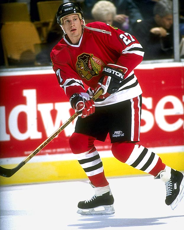 The speedy, hardnosed, 19-year-old center played for Wayne Gretzky in Junior A and led Team USA in scoring at the 1989 world junior championships before joining Chicago for the final 20 regular season games. He was a plus-4 in 10 playoff games that year, and after taking a stick to the mouth, the broken-toothed Roenick scored the goal against St. Louis that sent the 'Hawks to the Cup semifinals against Calgary. Still a rookie the next season, he led Chicago with 11 playoff goals as the 'Hawks again reached the conference final.