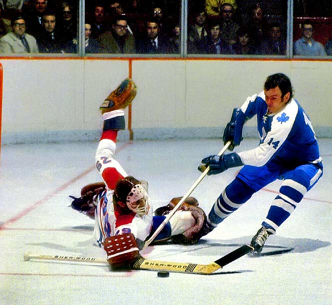 The out-of-nowhere legend against which all are measured, Dryden, 23, spent the 1970-71 season in the AHL before a late call up to Montreal. He played in only six games before being tabbed to start in the playoffs. In the first round, the future Hall of Famer stopped the defending champion Bobby Orr-Phil Esposito Bruins in seven games, and the Habs went on to win the Stanley Cup. Dryden, who had a 12-8 record and GAA of 3.00, took home the Conn Smythe. Who would you add to the list. Send comments to siwriters@simail.com.
