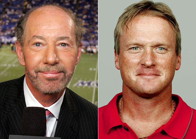 Anyone who really believes Kornheiser left <i>Monday Night Football</i> because of a fear of flying probably also thinks Gruden will be in the booth for more than a season before returning to coaching. The only thing shadier than Kornheiser's reasoning was Gruden's decision to leave the NFL Network after reportedly agreeing to work there this season.