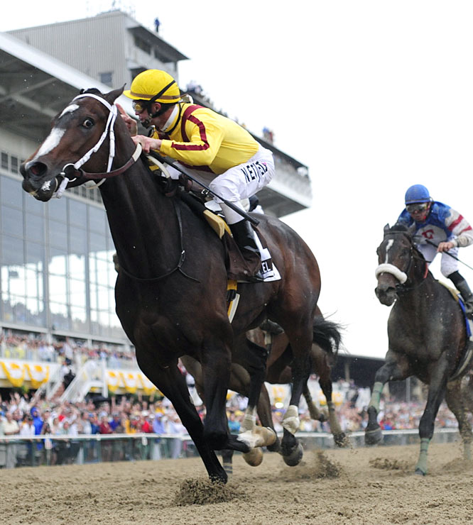 Rachel Alexandra is the first filly to win the Preakness since 1924, spanning 85 years.
