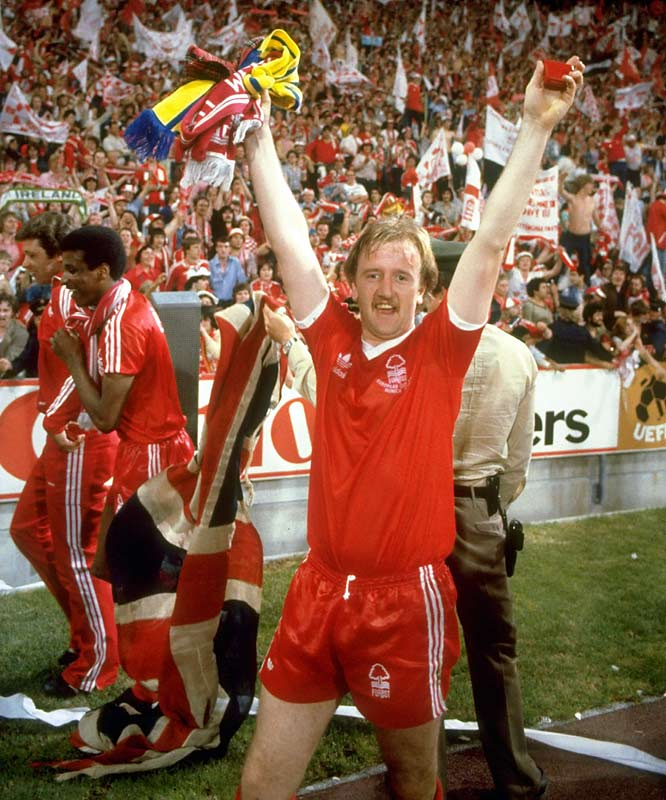 A Second Division club just two years earlier, Forest made its rapid ascent to European supremacy with a memorable gamble: spending the team's winnings from its First Division title in 1978 and making Trevor Francis the first £1 million footballer in February '79. The problem? UEFA rules precluded the striker from playing in European matches for three months after his signing, meaning Francis couldn't play unless Forest advanced to the final. Which it did. The fairy-tale ending came against Malmo of Sweden in Munich, Germany, where Francis (who else?) headed home the winner in Forest's unlikely 1-0 triumph.