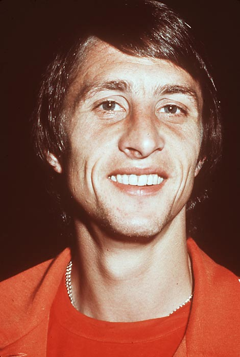 """The ultimate contrast of styles pitted Ajax's fluid """"Total Football"""" against Inter's soporific, defensive-minded <i>catenaccio</i>. A brilliant pair of goals from Johan Cruyff (pictured) helped the Dutch club to a 2-0 victory in Rotterdam -- and the second of its three consecutive European Cups."""
