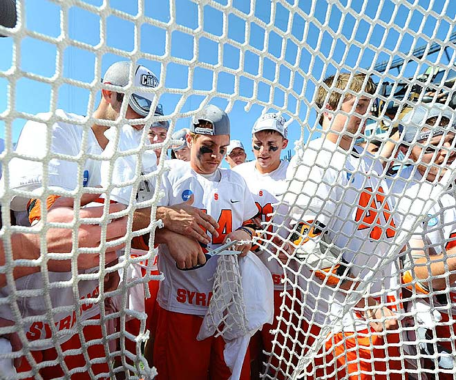 Syracuse is the first to win back-to-back titles since Princeton won its third in a row in 1998.