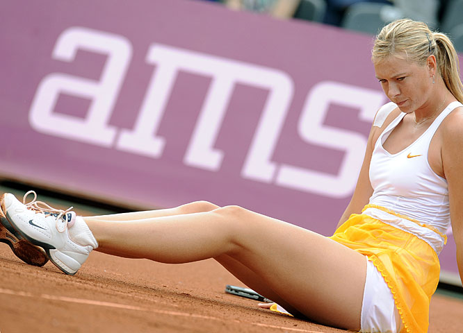 The three-time Grand Slam winner returned to singles action this week after spending the past nine-and-a-half months nursing a shoulder injury. The 22-year-old Russian advanced to the quarterfinals at the Warsaw Open before falling in the quarterfinals to Alona Bondarenko. It's probably too soon for Sharapova to contend for her first French Open title as she attempts to complete the career Grand Slam, but a string of positive results could help build confidence for Wimbledon next month.