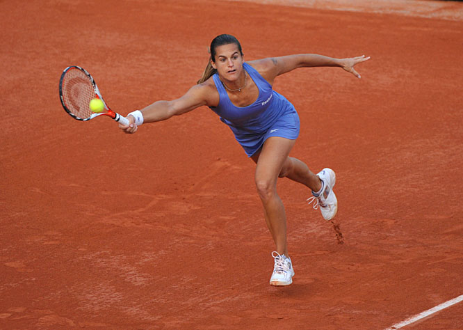 France's Mauresmo has won two Grand Slams and spent 39 weeks at No. 1. But when it comes to her home tournament, something has never clicked for the tour veteran. After her first-round loss to Anna-Lena Groenefeld this year, Mauresmo has made 15 appearances at Roland Garros while advancing as far as the quarterfinals only twice.