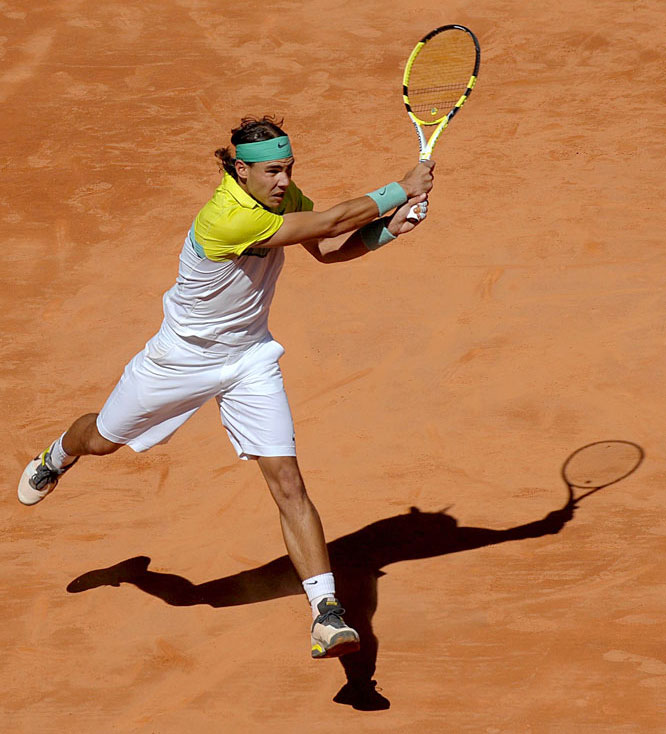 The undisputed King of Clay was on the verge of making history as the Madrid event moved into the later rounds. With a title in his home country, he'd become the first player in history to win three consecutive ATP World Tour Masters 1000 events.