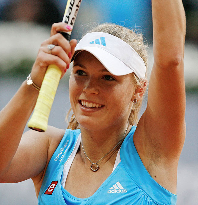 <i>Our weekly Friday look at newsmakers in the tennis world.</i><br><br>The precocious 18-year-old ensured she'll become the first Danish woman in history to crack the top 10 after her early-round victory against Alisa Kleybanova at the Madrid Open. Earlier in the week, Wozniacki helped promote the revamped event by playing with Elena Dementieva on the train tracks at Chamartin, one of the Spanish capital's busiest Metro stations.