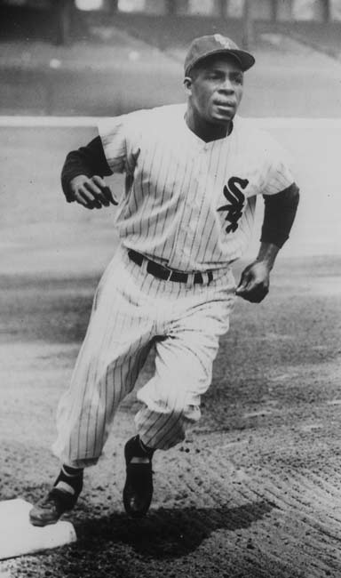 Minnie Minoso became the first black player to play for the Chicago White Sox.