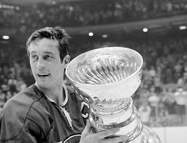 Led by captain Jean Beliveau, the Canadiens win the Stanley Cup after defeating the Blackhawks in seven games.