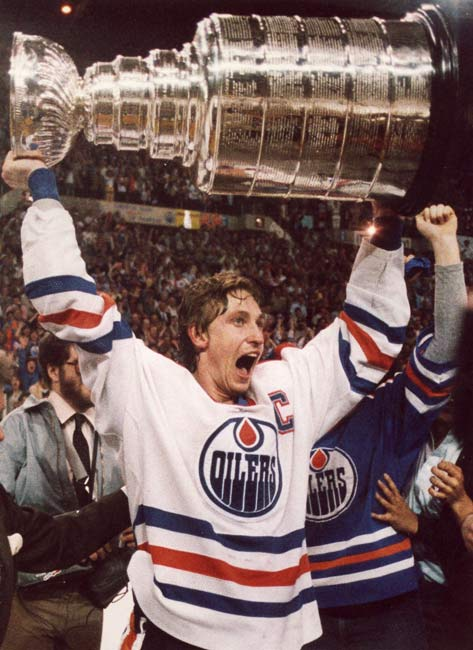 In the fifth game of the Stanley Cup Finals, the Edmonton Oilers beat the New York Islanders, 5-2, to claim their first championship.