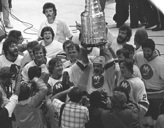 In the fifth game of the Stanley Cup finals, the Islanders capture the championship with a 5-1 victory over Minnesota.