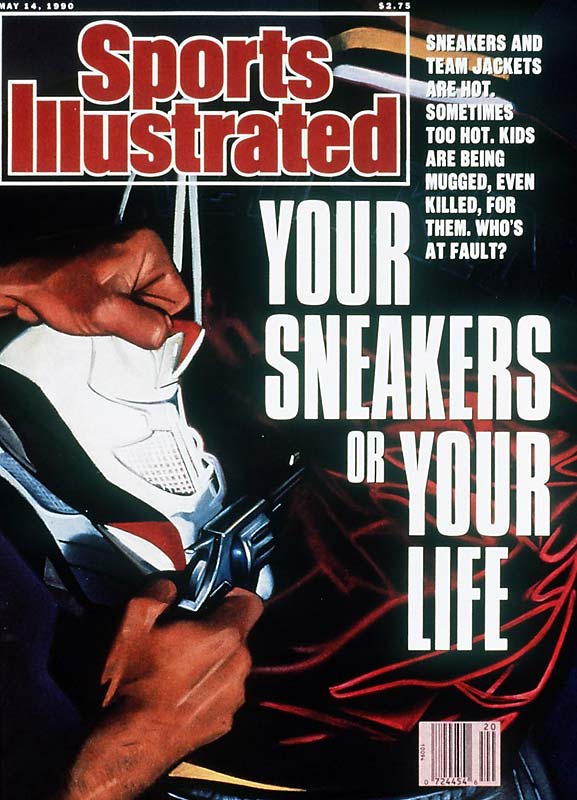 Led by Michael Jordan and Nike, the sneaker industy exploded in the early '90s. What was once a layer of support between the foot and pavement became a must-have accessory for many young adults. This story delved into the market and looked at the upswing in crime related to sneakers and sports merchandise.