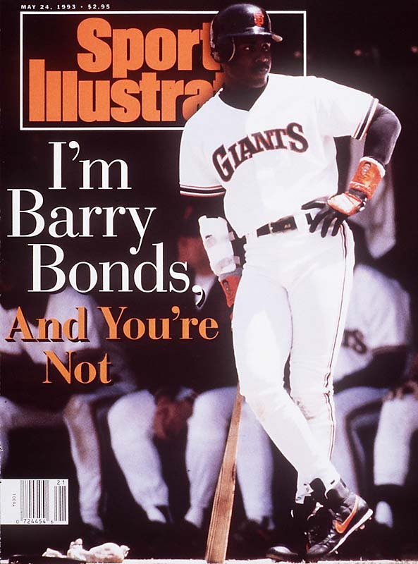 Long before the records, Barry Bonds appeared on the cover of SI as a 28-year old in his first year with the Giants.  At the start of the 1993 season, Bonds signed a then-record $43.75 million, six-year deal with the club after having spent seven seasons in Pittsburgh. In his tenure in San Francisco, Bonds found unparalleled success, but his reclusiveness earned him a strained relationship with the media and the fans.