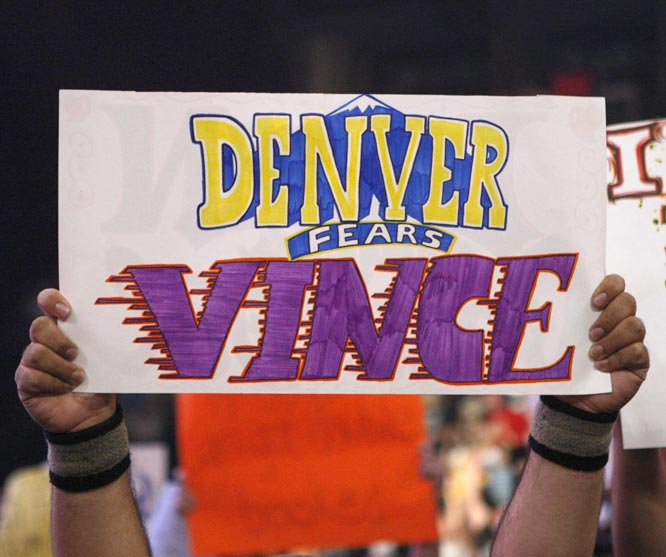 A WWE fan gives his reason for the Nuggets pulling the plug on the scheduled event.
