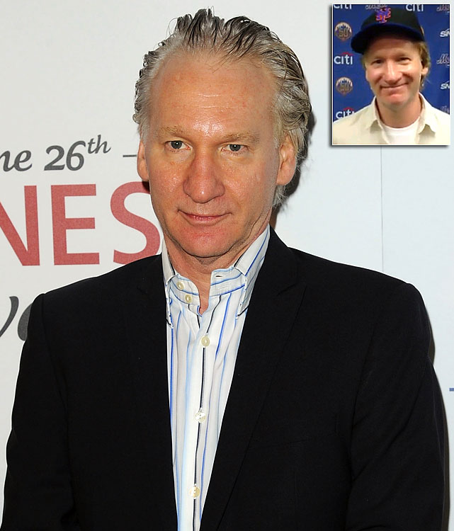Comedian Bill Maher acquired a minority stake in the New York Mets in June 2012. It's unknown whether he bought a full $20 million share or chipped in with others to buy one.