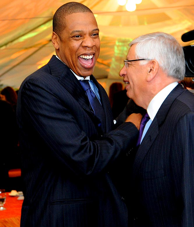 Brooklyn-born rapper/businessman Jay-Z joined an ownership group which bought the New Jersey Nets for $300 million in 2004. The group, led by Brooklyn developer Bruce Ratner, moved the team from the Izod Center in East Rutherford, N.J., to a new arena in co-owner Jay-Z's home borough. On April 18, 2013, Jay-Z officially announced he would be relinquishing his ownership in the Brooklyn Nets in order to launch his own sports agency.