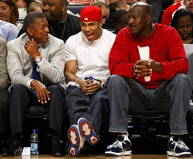 "The ""Rapper/NBA team co-owner"" trend caught fire in 2004. Soon after Jay-Z purchased a stake in the Nets, rapper Nelly joined the ownership group of Bobcats Basketball Holdings, LLC, which owned and operated the Charlotte Bobcats until Michael Jordan became the new owner in March 2010."