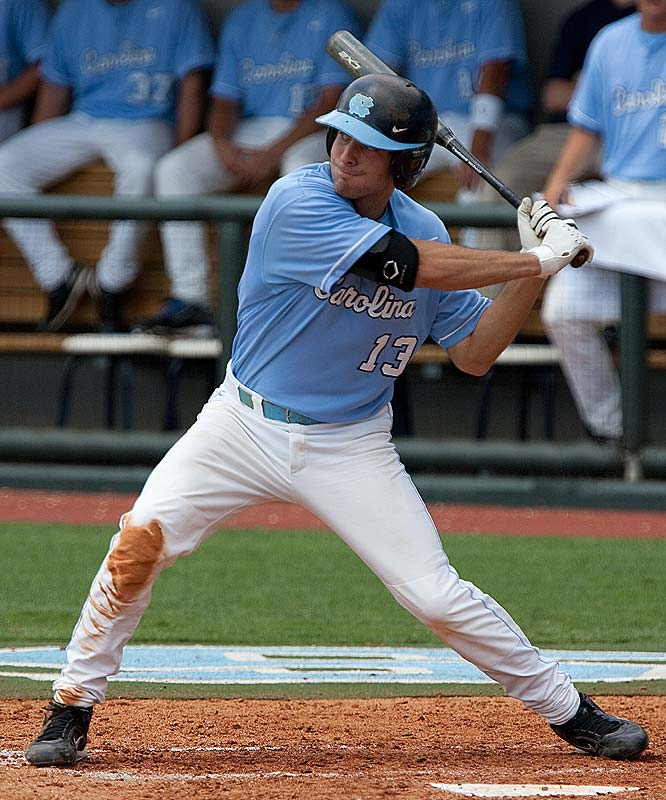 With first-round draft pick Dustin Ackley (pictured) at the No. 2 spot in the batting order, the Tar Heels swept East Carolina to make their fourth consecutive trip to the CWS.<br><br>First game:  1 p.m., Sunday vs. Arizona State