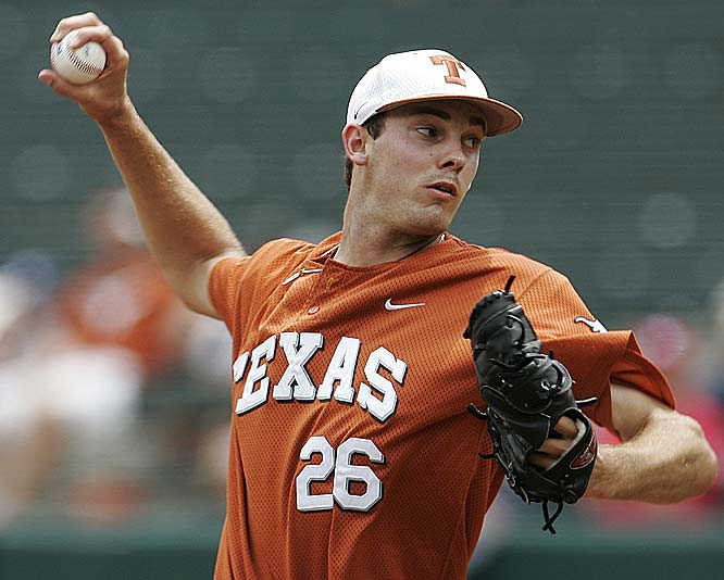 Taylor Jungmann (pictured) allowed just two hits in six innings as Texas topped TCU in the third game of the Super Regional to punch its  ticket to the CWS.<br><br>First game:  Sunday, 6 p.m. vs. Southern Mississippi