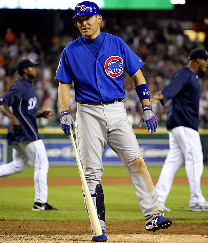 DUD: <br>.192 average (5-for-26) <br>1 run<br>0 HRs<br> 1 RBI<br> 1 steal