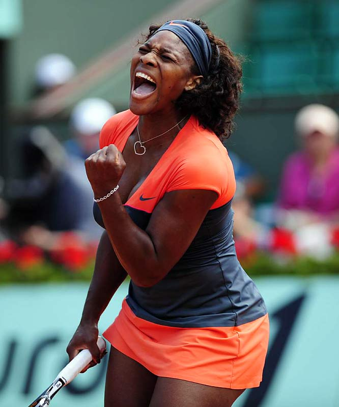 Serena Williams continues to prove why she's one of the best athletes in the world, running her Grand Slam winning streak to 18 consecutive earlier this week as she sought another French Open title.