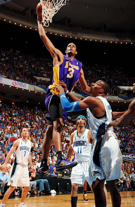 In a twist of irony, the Magic traded Ariza to the Lakers in 2007 for Brian Cook and Maurice Evans, and Ariza has proven to be a great fit in L.A. He scored 15 points and grabbed five rebounds in Game 5.