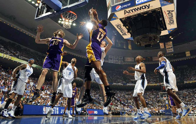 Bynum was effective early in the game. He finished with six points and five rebounds in 16 minutes.