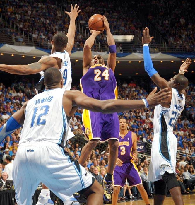 Kobe won his fourth career title ...