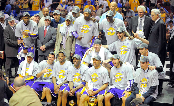 This title marks the Lakers' 15th in franchise history, ranking them second all-time behind the Celtics.