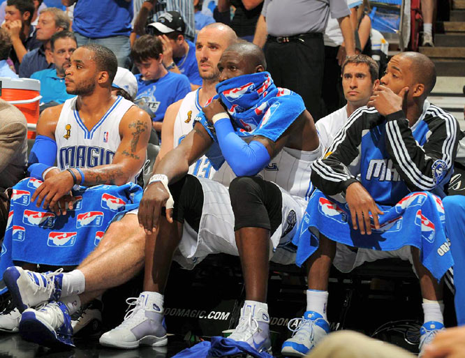 After nearly winning Games 2 and 4, the Magic had little to offer down the stretch in Game 5.