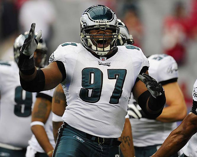 After not seeing the field much as a rookie (and being suspended one game for missing a team flight), Bunkley became a starter in 2007 and has developed into the franchise tackle the Eagles envisioned when they drafted him.